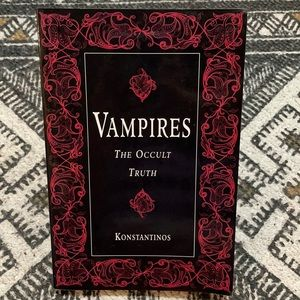 Vampires the occult truth Konstantinos paper back
